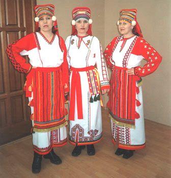 фото мордовский женский костюм